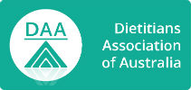 Rebound sports physiotherapy's dietitian is a member of the dietitians Australia association trusted near me in Melbourne, Clifton Hill and Fitzroy