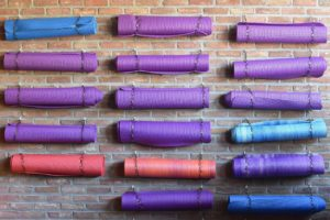 Pilates mats to do your physiotherapy treatment or pilates at home near me in Melbourne, Clifton Hill and Fitzroy